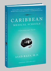Caribbean Medical School Journey & Guide Book Cover
