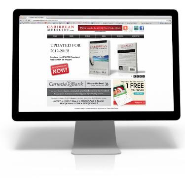 Image of CaribbeanMedcine.com on Screen