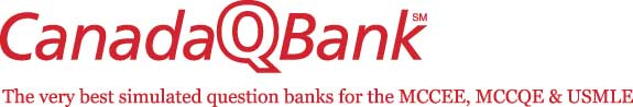 CanadaQBank Logo - The very best simulated question banks for the MCCEE, MCCQE & USMLE