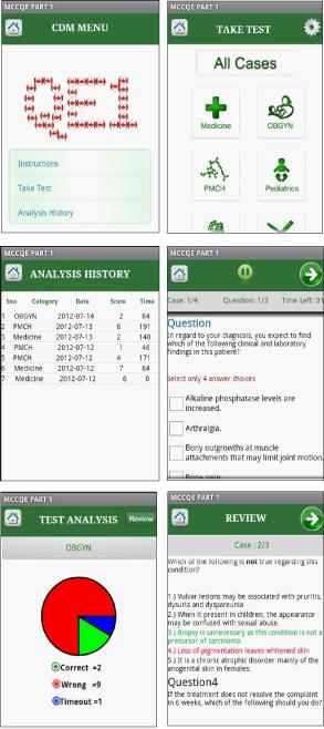 CanadaQBank MCCQE App Screen Shots
